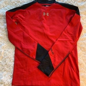 Youth Under Armour Fitted Athletic Top